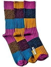 United Oddsocks - 3 Odd Socks Dicker Strick für Männer - Danny