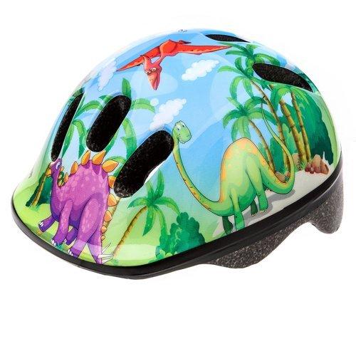 Kinder-Fahrradhelm für Jungen Größe S, Dinosaurier