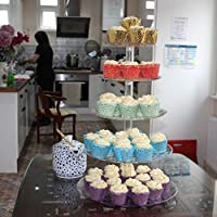 5 Tier Stand for Cupcake Wedding Cake Food Fruit Display