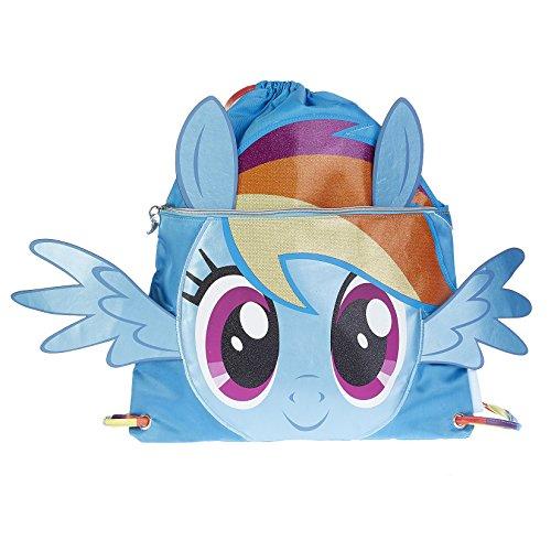 Karactermania My Little Pony Rainbow Bolsa de Cuerdas Para El Gimnasio, 41 cm, Azul