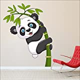 SRG India Baby Panda Wall Stickers Decal Wallpaper For Kids Home living room bedroom kitchen Office