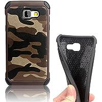 Samsung Galaxy A5(2016) A510 Custodia Copertura Case Cover Bumper , Vandot Handytasche Dura Protettiva Protettivo (Army Camouflage Pattern)