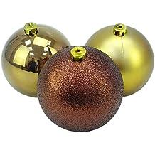 Extra grobe christbaumkugeln