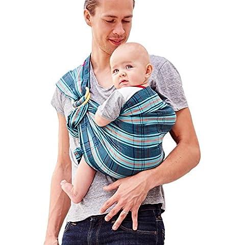 mamaway Bambino Anello Sling Carrier | nascita ai 3anni ALLATTAMENTO | leggero e resistente nylon Anelli testato a portata 50kg per 24ore | Baby doccia gift| taglia unica