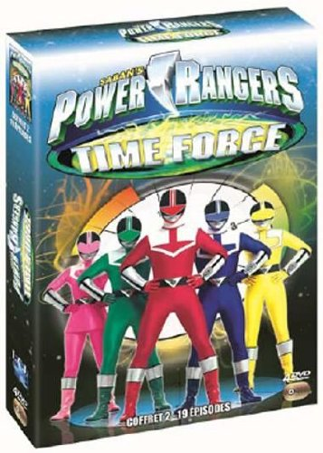Coffret power rangers time force, vol. 2
