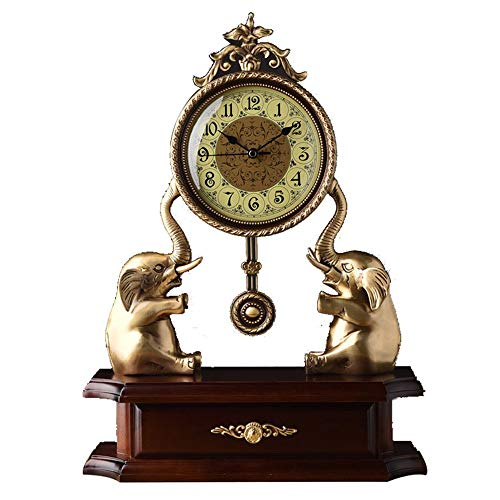 Reloj de mesa Decorativo del reloj de tabla grande del reloj de ...