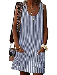 2568a3d010 Amazon.it: A righe - Vestiti / Donna: Abbigliamento