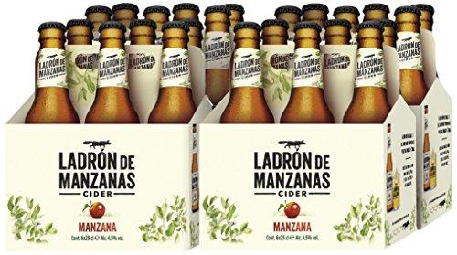 Apple Cider Apple Cider - 4 6 Bottles x 250 bottles ml - Total: 6 L