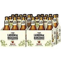 Ladrón de Manzanas Cider Manzana - 4 Packs de 6 Botellas x 250 ml - Total: 6 L