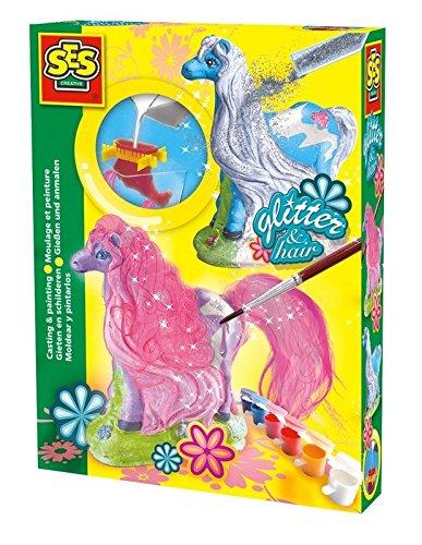 ses-2201272-stampi-in-gesso-cavalli-con-i-glitter