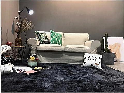 FFJTS Super weiche Shaggy SUPER dicken Teppich Schlafzimmer Wohnzimmer Anti-Rutsch gemütlich hart-tragen moderne Top-Qualität Mode Teppich , 150*190cm