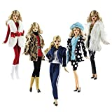 Doll Clothes, Lance Home 5 Sets Fashion Outfits Autumn Plush Dresses Fall Winter clothes Pants Shoes Bag Hat For 29cm Doll Accessories Baby Christmas Gifts