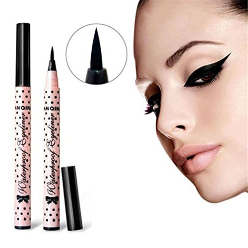 ularmo-eyeliner-noir-waterproof-liquid-makeup-beaute-cosmetiques-eye-liner-pencil-pen