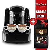 Arzum Okka Kaffeemaschine Schwarz Chrom + Pala Efendi Türk Kahvesi GRATIS DAZU