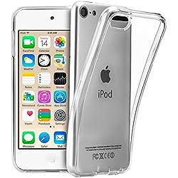 TopAce® Coque en TPU souple et transparente Housse Etui Pour Apple iPod Touch ( 6.GEN ) 2015 (Clear)