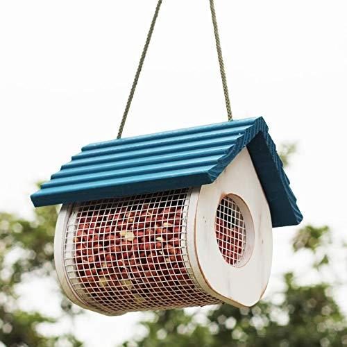 JXXDDQ Fil métallique décoratif extérieur de Jardin de conducteur de Graine d'oiseau Sauvage de conducteur d'oiseau Maille accrochante de Nourriture