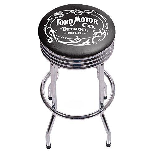 trademark-gameroom-ford-chrome-ribbed-bar-stool-vintage-1903-ford-motor-co-by-trademark-gameroom