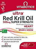 Ultra 500mg Red Krill Oil Capsules - Pack of 30 capsules