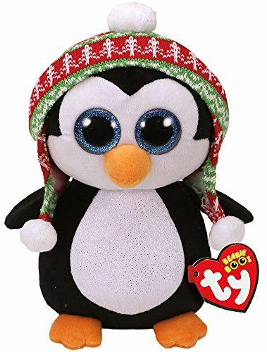 """Beanie Boo Christmas Penguin - Penelope - 41cm 16"""""""