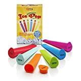 Picture Of Set of 6 Silicone Ice Pole Makers Frozen Popsicle Lolly Pop Mould DIY Push Up Ice Maker Mold