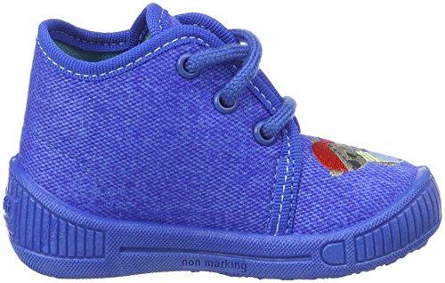 Superfit Bully, chaussons d'intérieur garçon Blau (bluet)