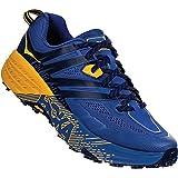 Hoka Speedgoat 3, Zapatillas de Trail-Running por Hombre, Azul (Galaxy Blue/Old Gold - GBOG), 42 2/3 EU