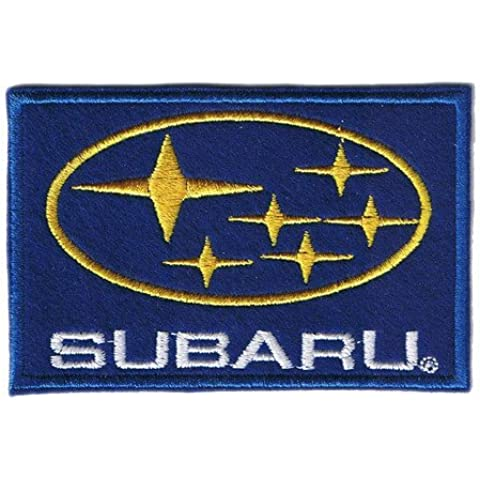 Subaru Legacy Forester Wagon Rally Seat Mat Cloth Iron on Sew Applique Embroidered patches by Patch Wonder