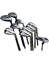 """Spalding DX22 Golf Schlägersatz Graphitschaft 10 Schläger MRH/MLH/+1"""""""