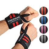Handgelenkbandagen Profi Qualität (2er Set) - 45cm Länge - maximale Unterstützung für dein Workout - Fitness, Bodybuilding & Cross Fit Bandagen - High Performance Wrirst Wraps - 2 JAHRE GARANTIE