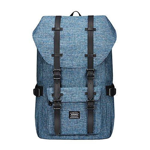 "KAUKKO Mochilas Tipo Casual Compartimento para 15"" Portátil 22 litros Azul"