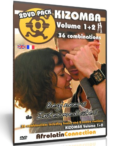 Preisvergleich Produktbild How to Kizomba Vol1+2 2DVD Pack - Improvers to advanced - 36 combinations