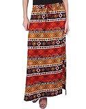 Purys Women's A-line Maxi Skirt (E-17019...