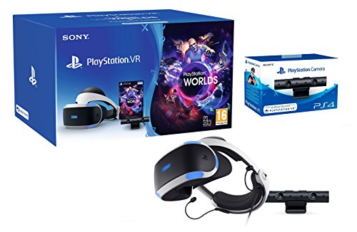 "PlayStation VR2 (CUH-VR2) ""Starter Pack\"" + VR Worlds + Kamera V2"