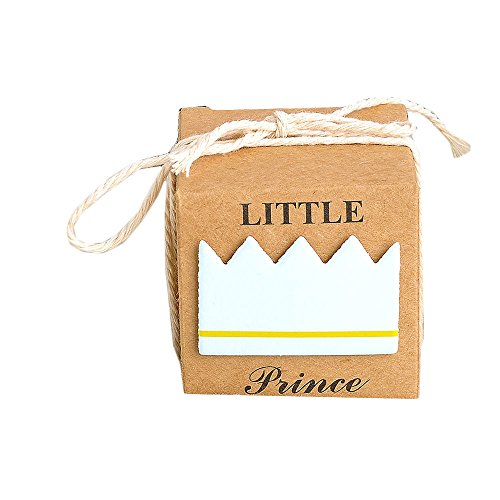 100 Little Prince Little Princess Candy Box Baby Dusche Candy Box blau
