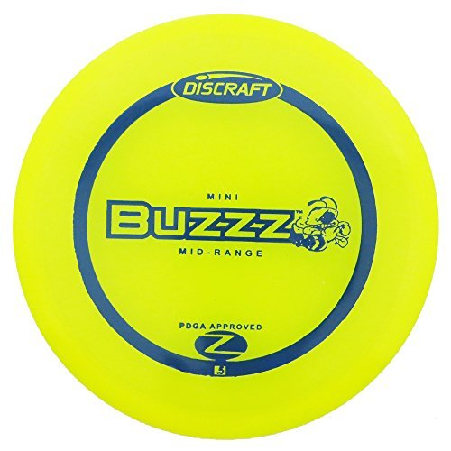 Discraft Mini Elite Z Buzzz Disc Golf Mini Marker Disc [Colors may vary] by Discraft -