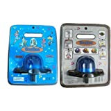 Toy Police Siren with Flashing Blue Light and Dual Volume Control