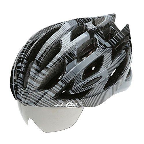 Kleinkind Schuhe Sattel (Abnehmbare Schutzbrille Helme - Premium Qualität Airflow Bike Helm Spezialisiert für Road & Mountain Biking - Safety Certified Fahrradhelme für Erwachsene Männer & Frauen, Teen Boys & Girls - Bequem,)