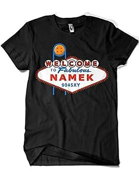 Camisetas La Colmena 2758-Camiseta Premium, Viva Namek (Karlangas)
