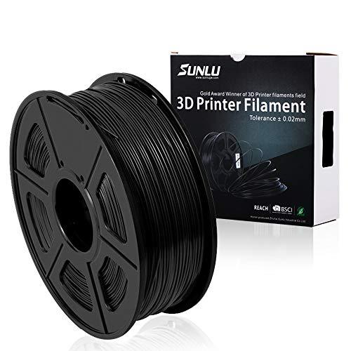 SUNLU PETG Filamento 3D 1.75mm 1KG (2.2lb), Filamento de impresora PET