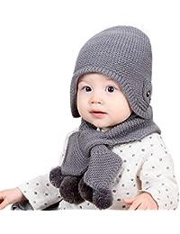 Amazon.es  Gorros Lana Bebe - Niños de hasta 24 meses   Bebé  Ropa 2c09cd41f2b