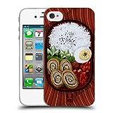 Head Case Designs Bento Schachtel Orientalische Nahrung Soft Gel Hülle für iPhone 4 / iPhone 4S