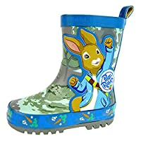 Peter Rabbit Beatrix Potter Boys Wellington Boots Rain Snow Wellies