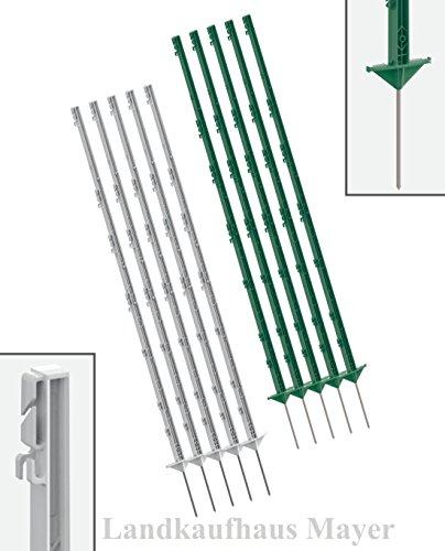 *Weidezaunpfahl 40 St. 156 cm *Grün* von Landkaufhaus Mayer*