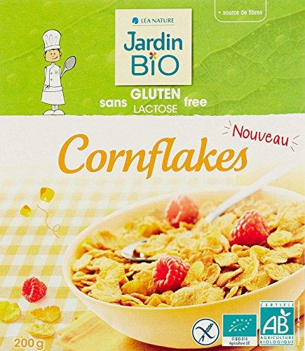Jardin Bio Cornflakes sans Gluten 200 g - Lot de 4