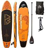 AQUA MARINA, FUSION+CARBON-Paddle, Paddle Board, SUP, 330x75x15 cm