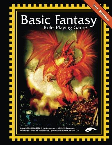 Basic Fantasy Role-Playing Game 3rd Edition (Nicht Teuer, Zeitschriften)