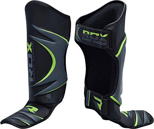 RDX Boxen Schienbeinschutz Kampfsport Schienbein Schienbeinschoner Beinschützer Kickboxen