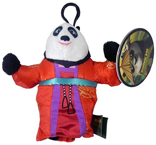 11cm Kung Fu Panda suave del bolso del juguete Clip - Mei Mei
