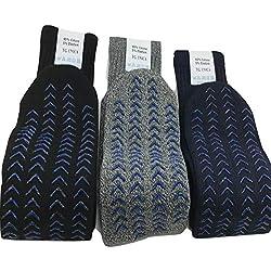 LUCCHETTI SOCKS MILANO 3 pares de calcetines antideslizantes para adultos talla única