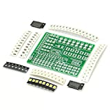 Gikfun SMD SMT Löt-Kit zum Üben PCB-Board Elektrische LED DIY Kit für Arduino Lernen Schweißen Training Suite EK1938U